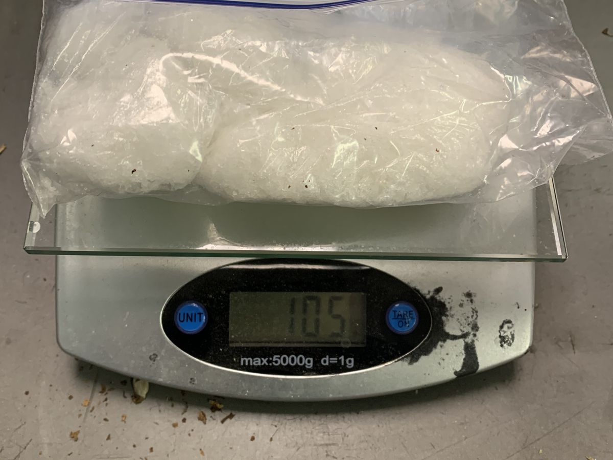 Sheriff's Office: Mabank woman caught with large bag of meth