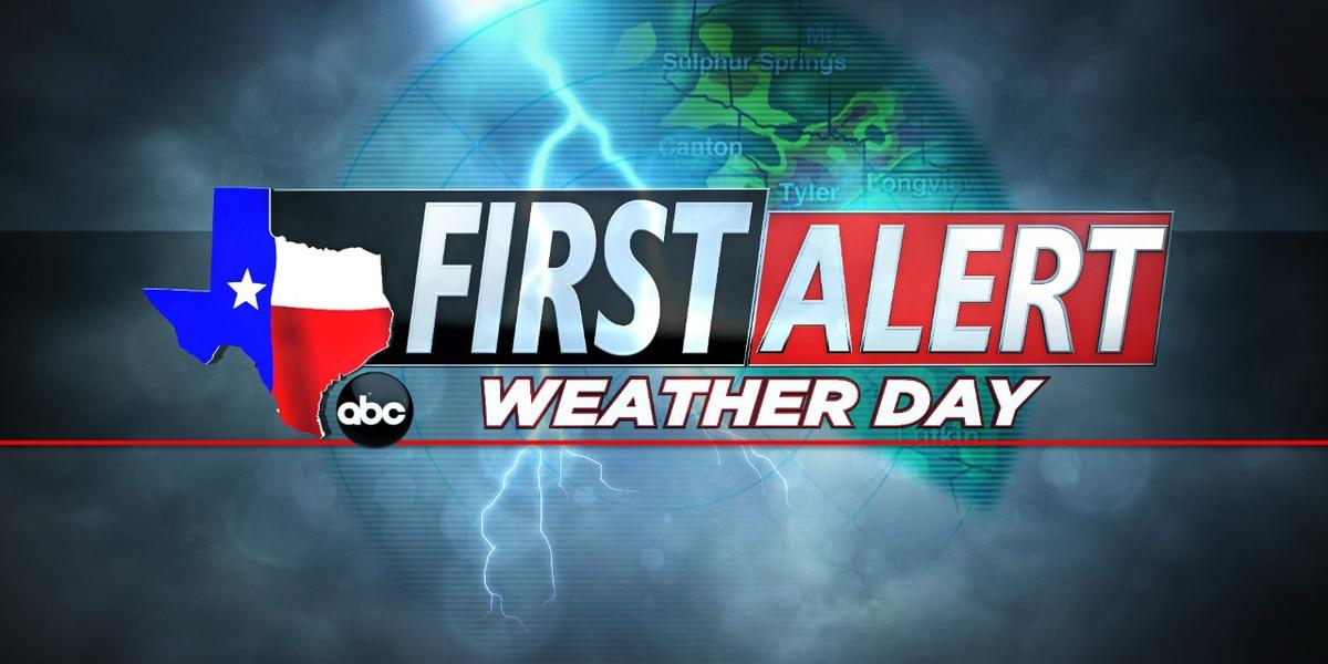 Saturday First Alert Weather Day update