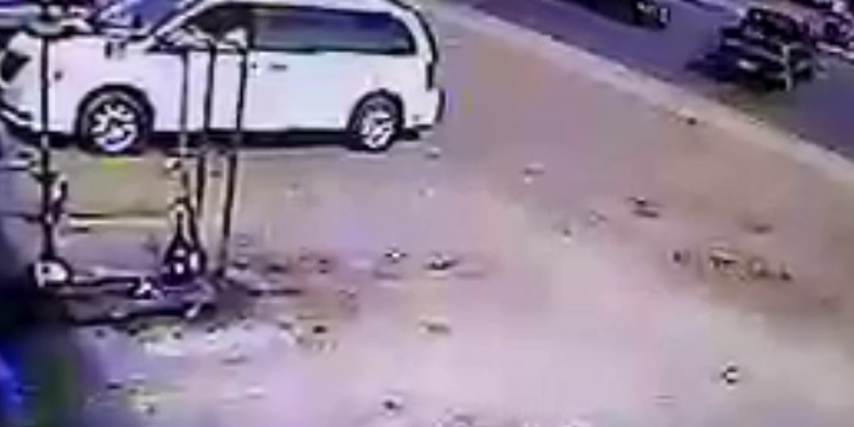 VIDEO: Longview police searching for hit and run suspect caught on camera