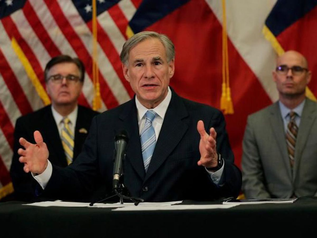 Henderson County Republican committee votes to censure Gov. Abbott over face masks, closures