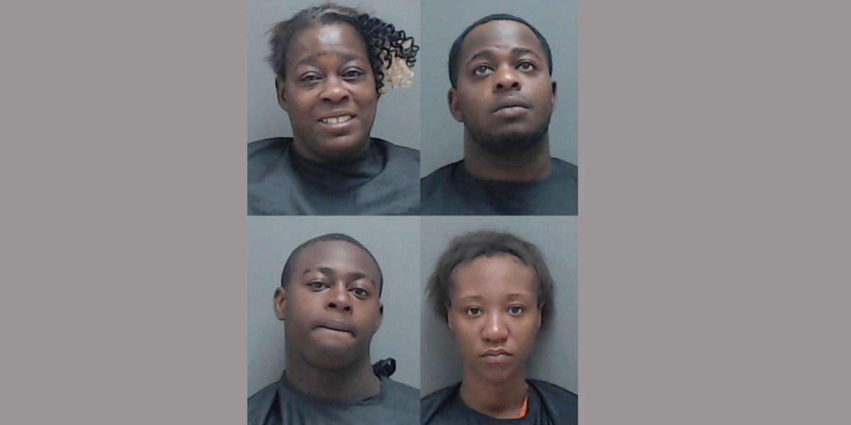 4 arrested after Marshall search warrant turns up stolen firearm, narcotics, cash