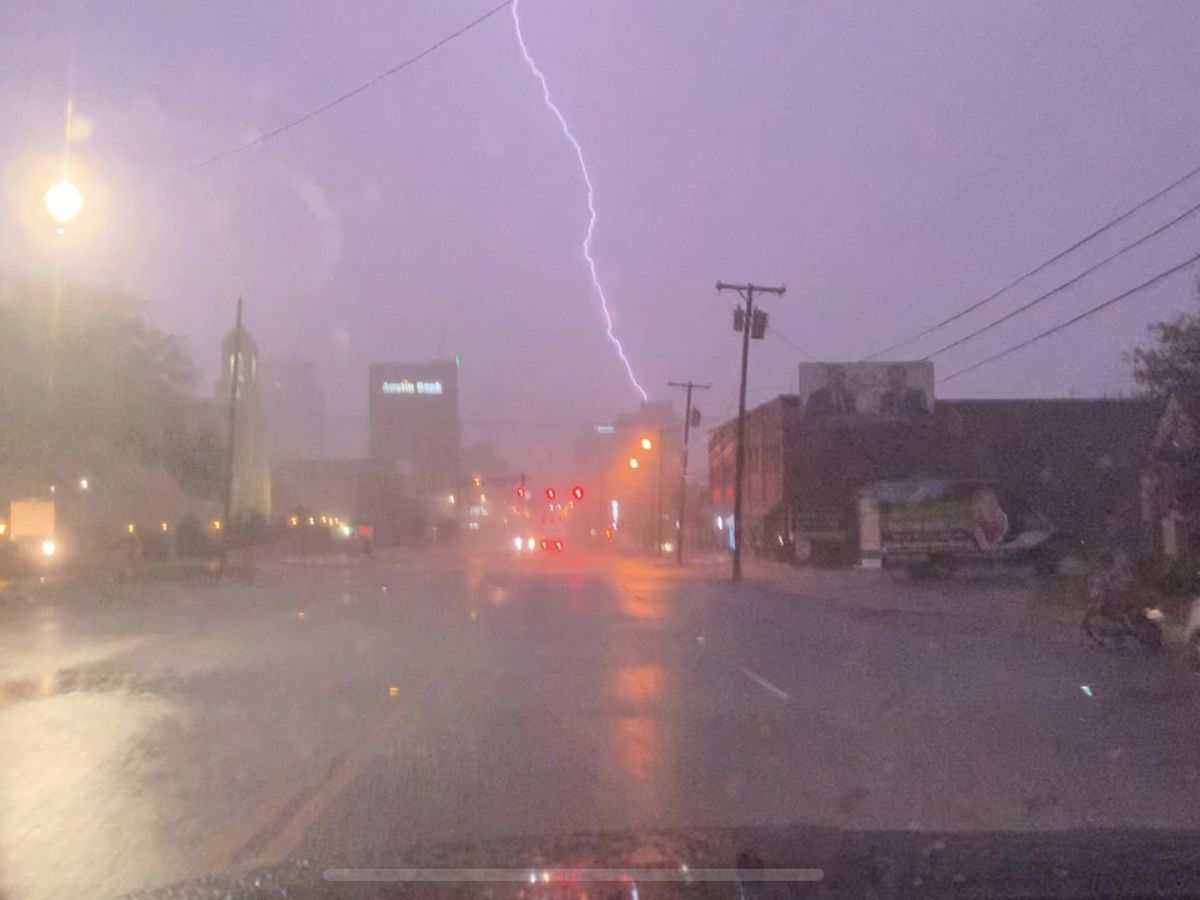 Overnight storms knock out power across East Texas