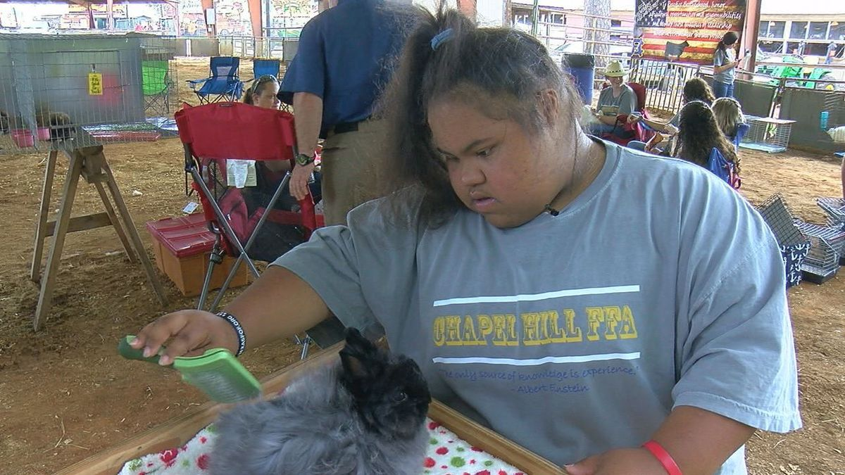 Special Needs Students Participate In Etx State Fair