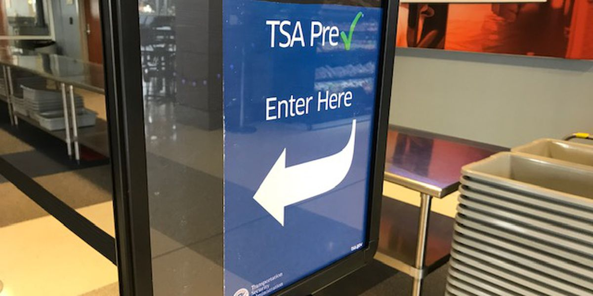 TSA PreCheck mobile enrollment begins today at Tyler Regional Pounds
