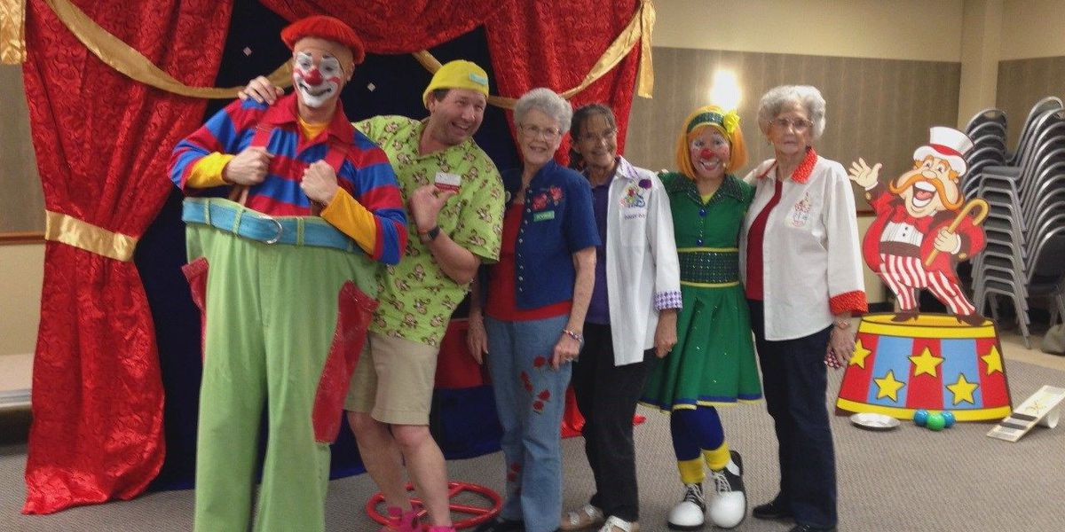 Power of Prayer: Christian clown ministry