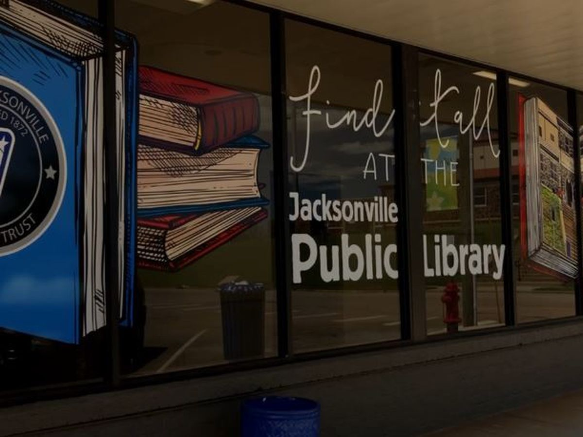 Jacksonville library gets ready for reopening