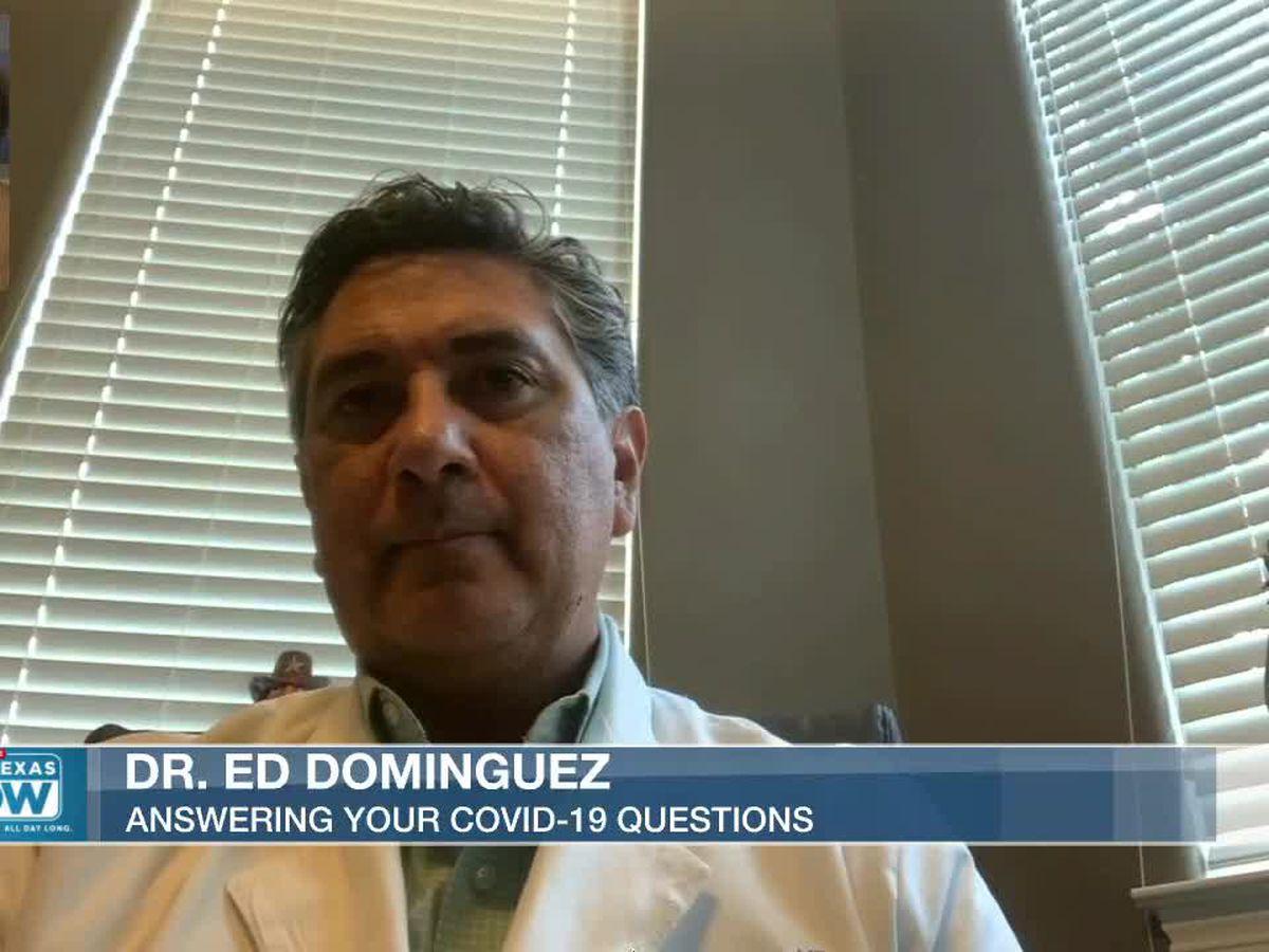 WATCH: Dr. Ed Dominguez discusses COVID-19 vaccine, face masks, more