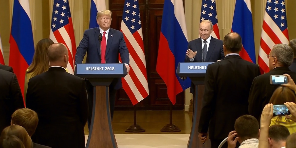 Trump concealed details from meeting with Putin, report says