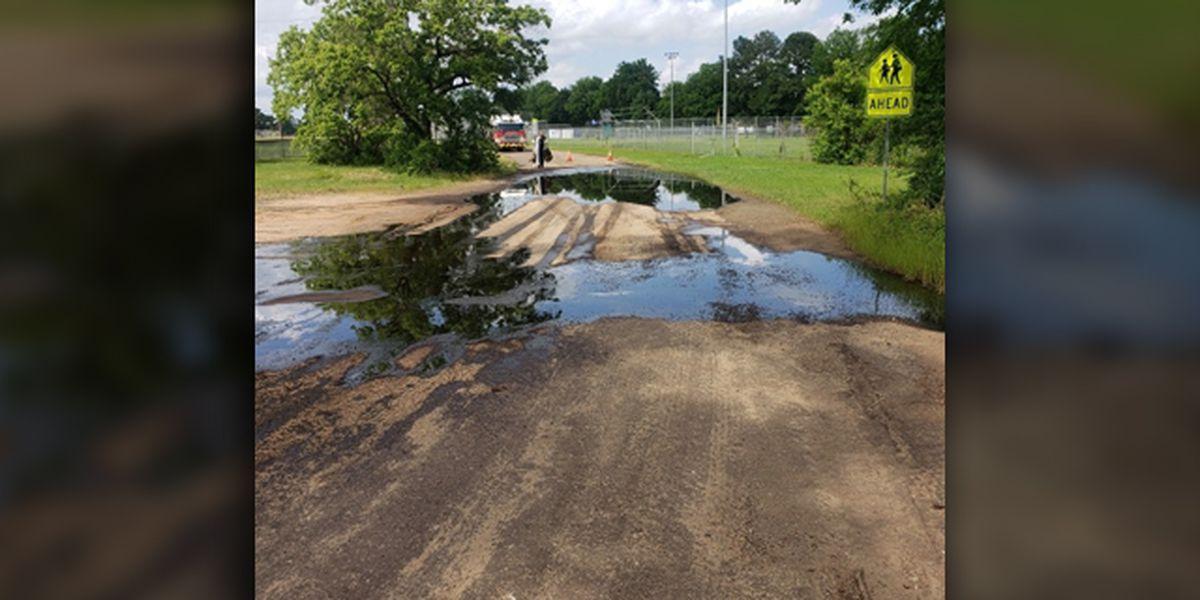 Crews responding to leaking wellhead in Longview area