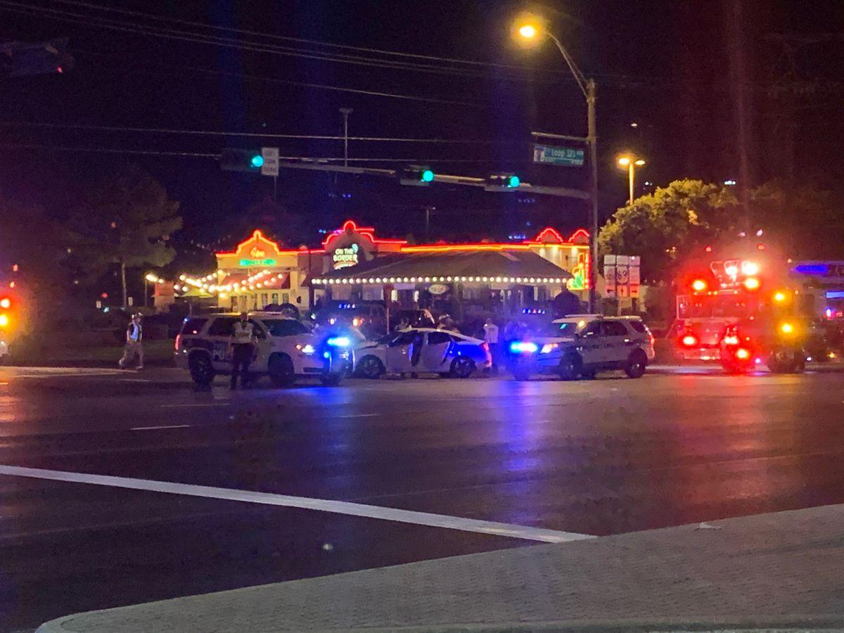 Emergency crews responding to pin-in at Tyler loop, S. Broadway