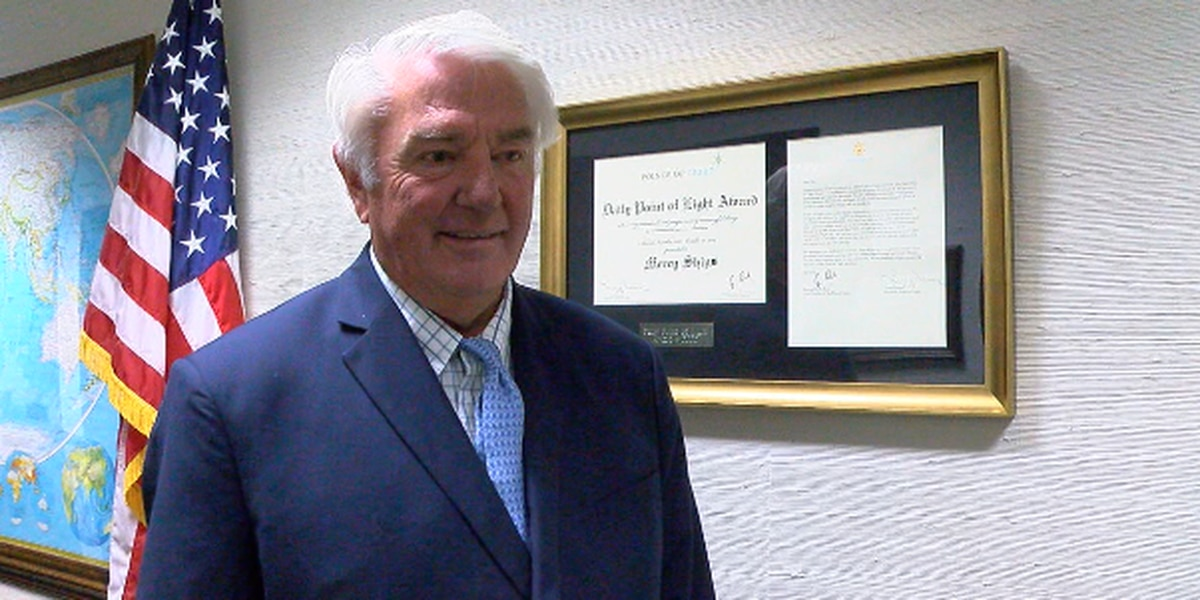 East Texan speaks about honor of receiving Daily Point of Light Award