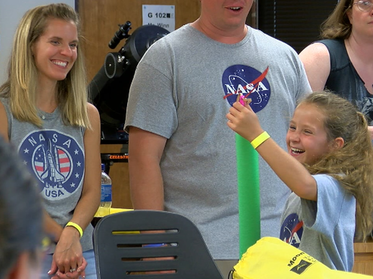 Moon Day at TJC was a 'blast' for all generations