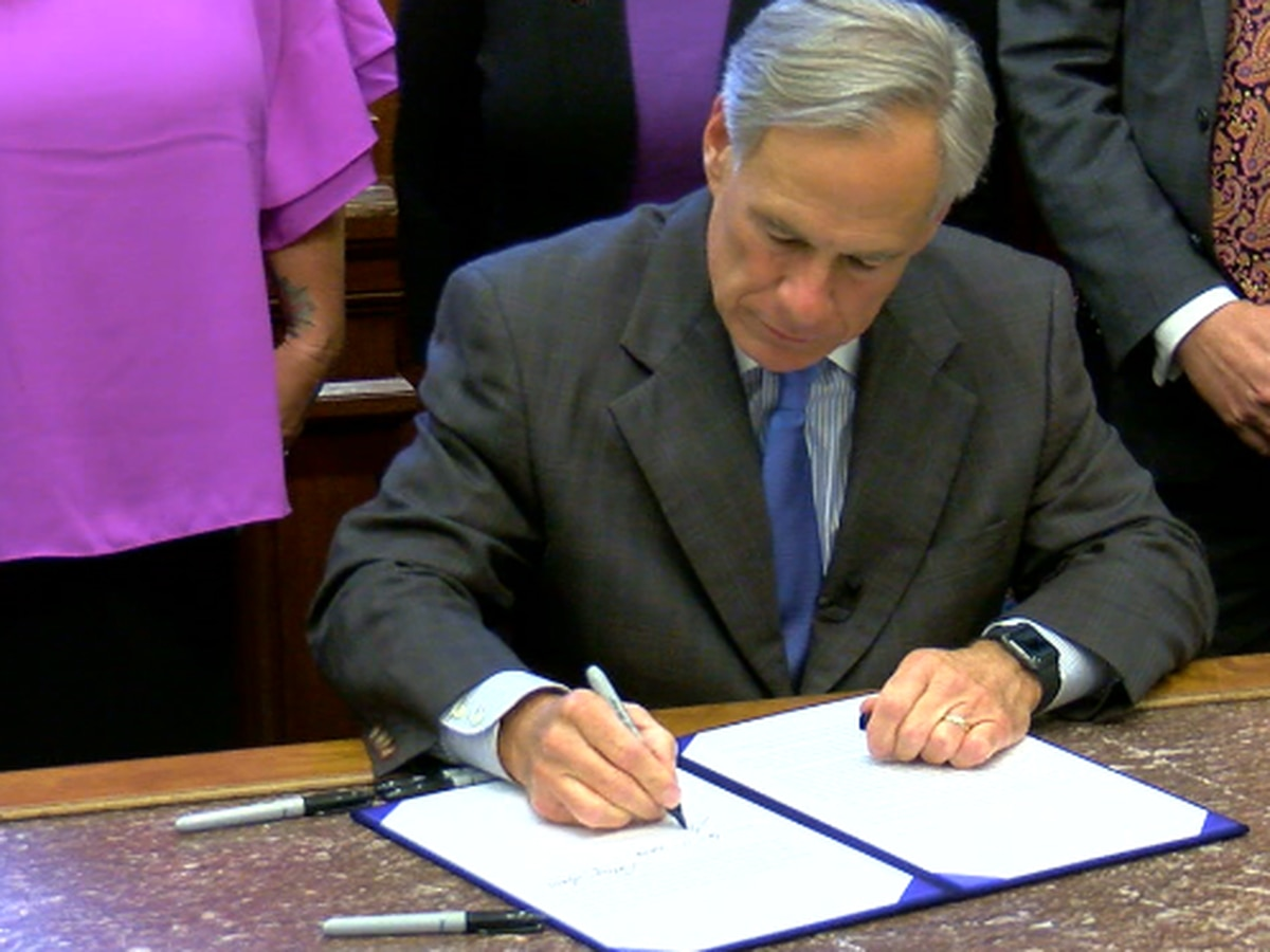 Texas governor meets with tech officials about quelling hate