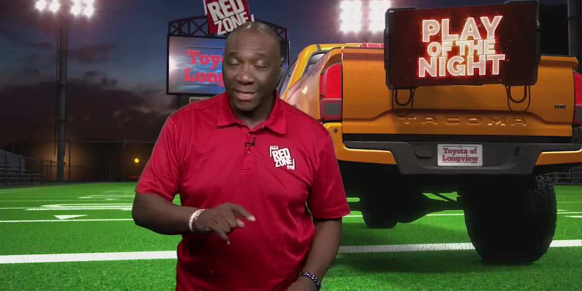 KLTV, KTRE Red Zone - Friday, WEEK 13, PLAY OF THE NIGHT - NEWTON EAGLES