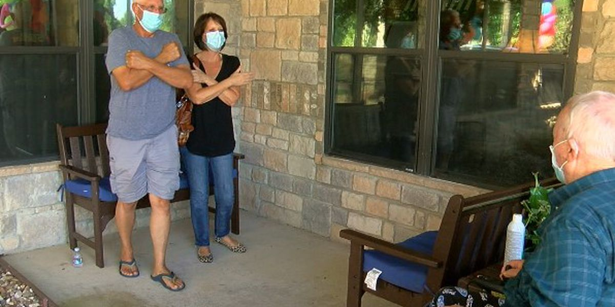 East Texas families reunite after months of being separated due to the pandemic