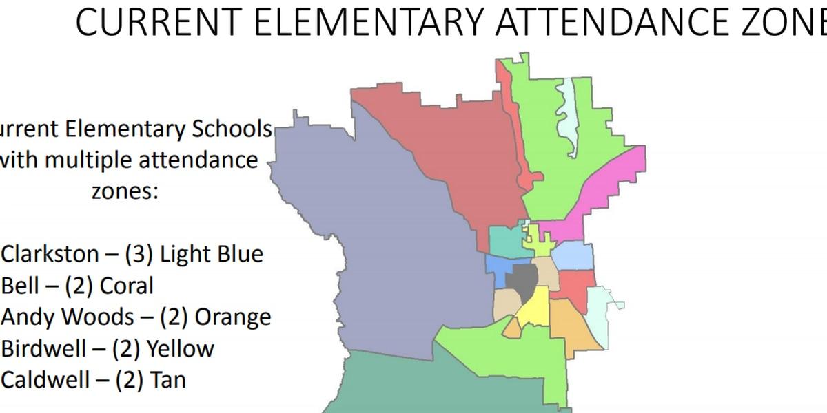 Tyler ISD elementary school zone