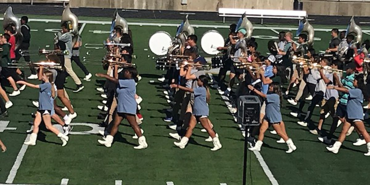 Lobo band marches to 70th straight Division 1 rating at UIL