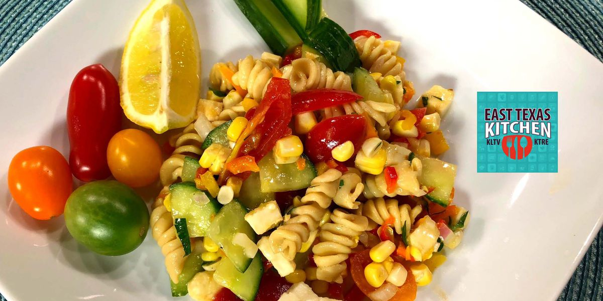 Summer pasta salad by 'Southern Fried Chef' Ben Carter
