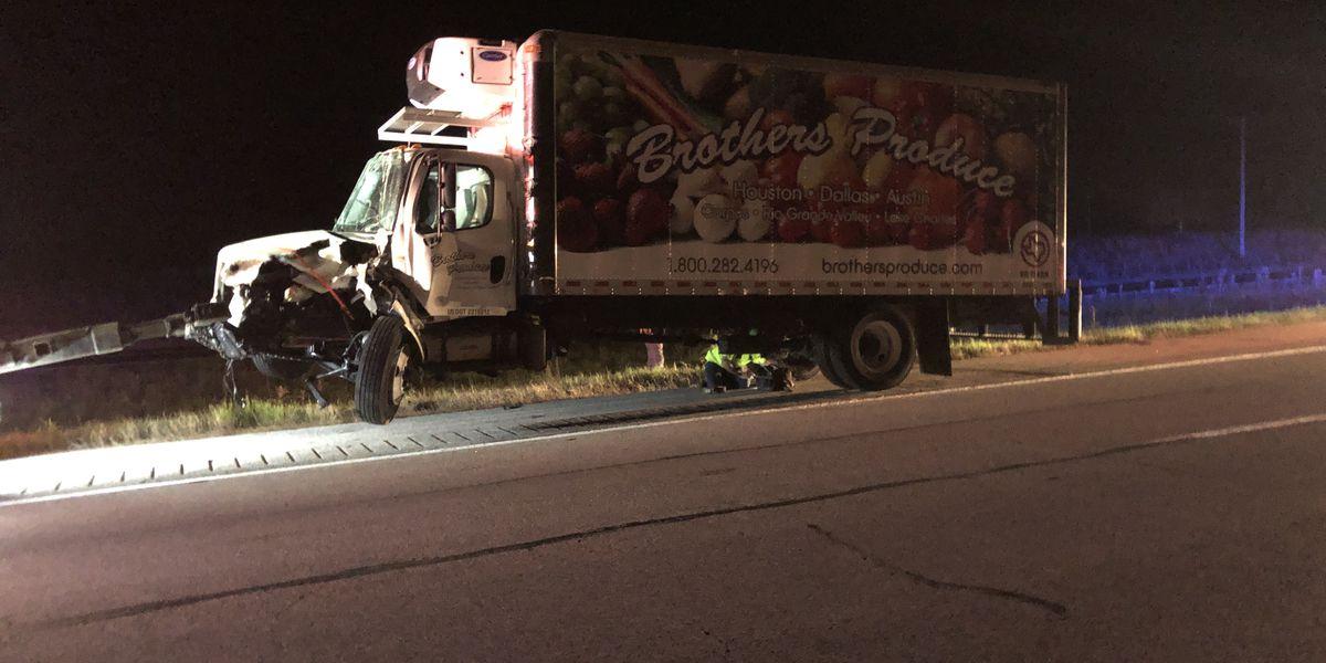 Wreck involving box truck, ambulance slows I-20 EB near FM 314