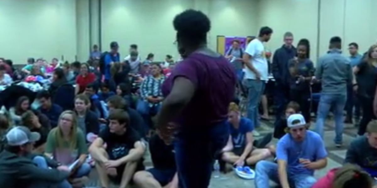 Kilgore students attend mid-term elections watch party