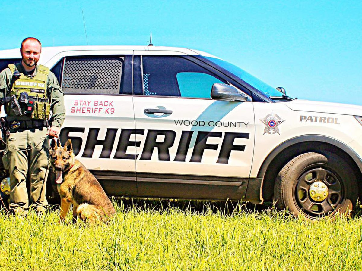 Wood County Sheriff's Office introduces new K9 team