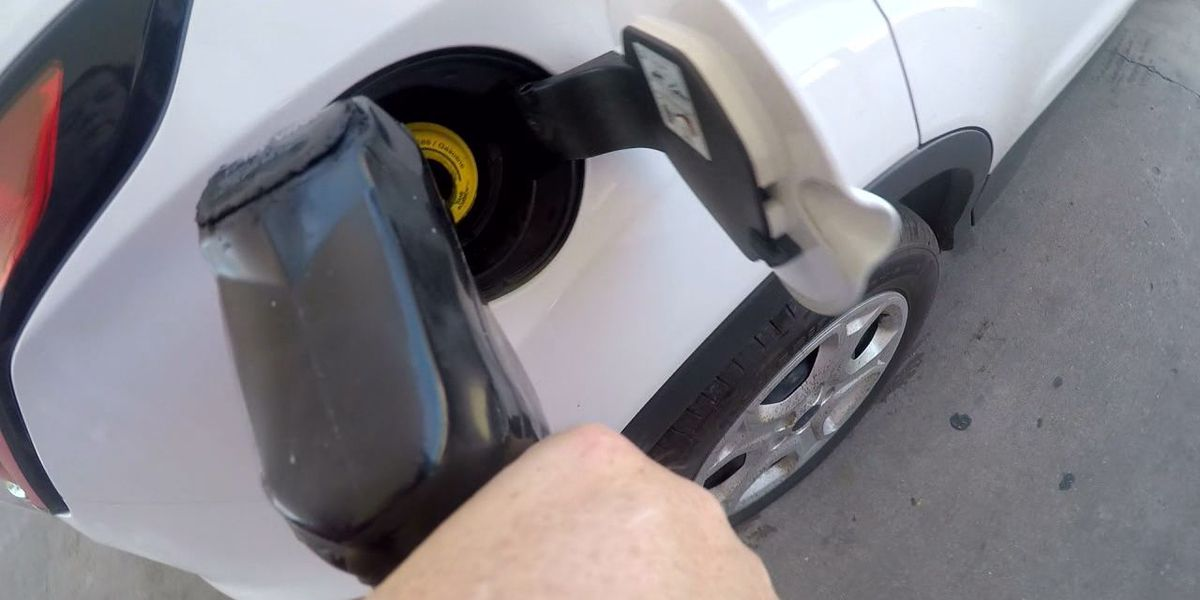 WEBXTRA: East Texans enjoying lower-than-average gas prices during holiday travel