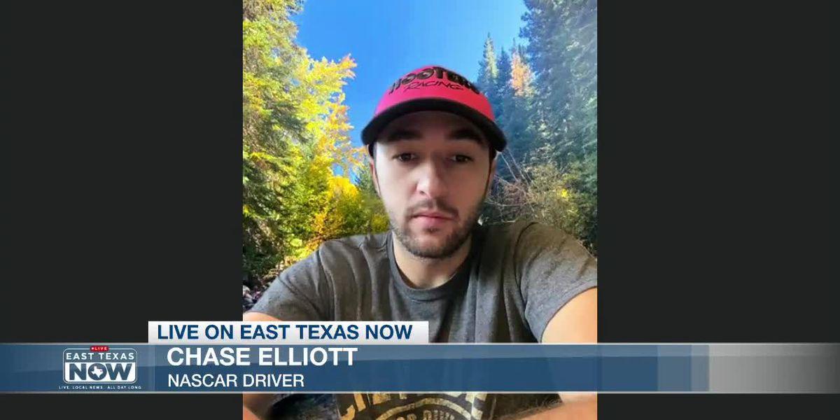 WATCH: Q&A with NASCAR driver Chase Elliott