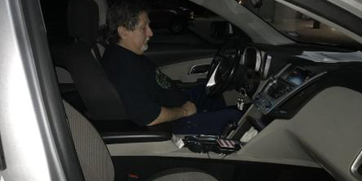 It's lonely driving for an election inspector
