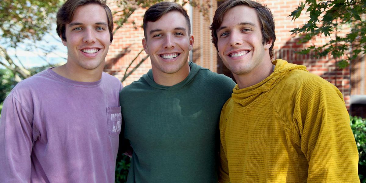 East Texas triplets attending college at TJC