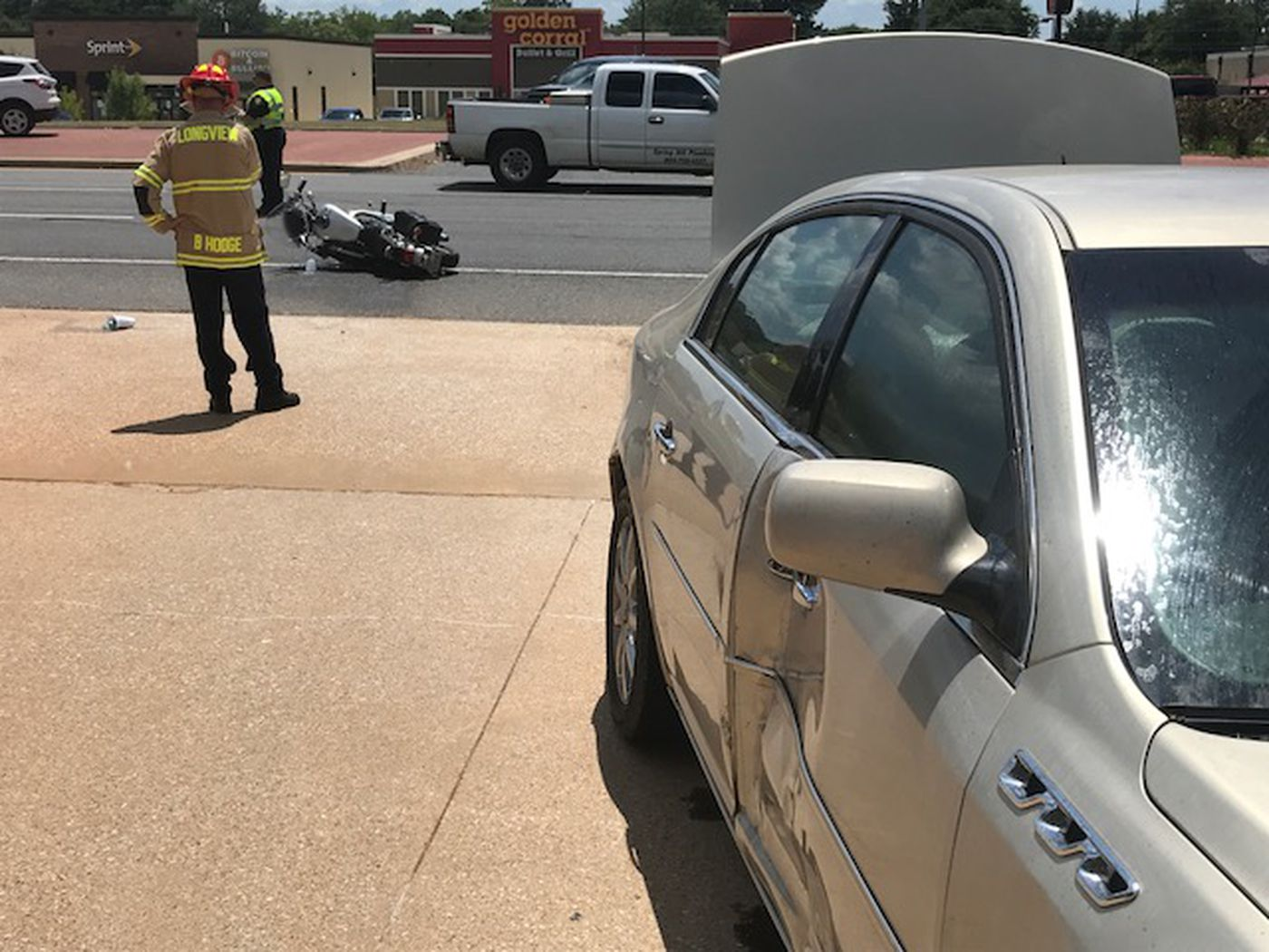 Two taken to the hospital after crash in Longview