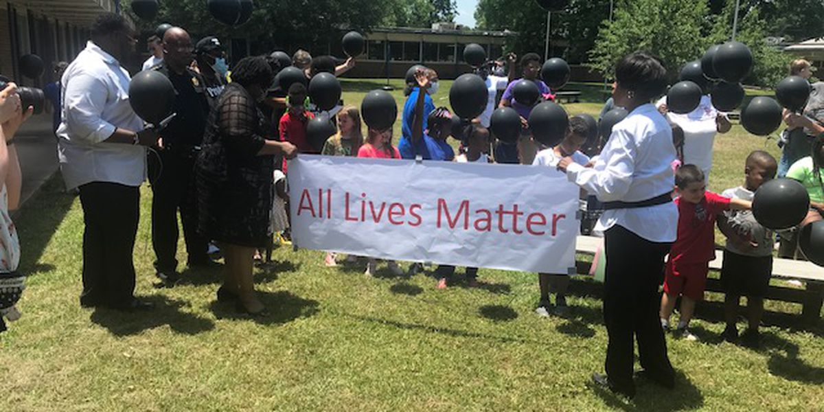 Texas African American Museum in Tyler hosts balloon release in honor of George Floyd