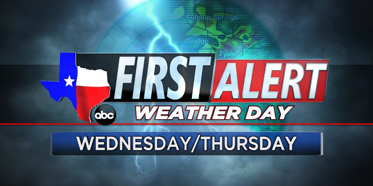 First Alert Weather Days remain in effect for Wednesday, Thursday