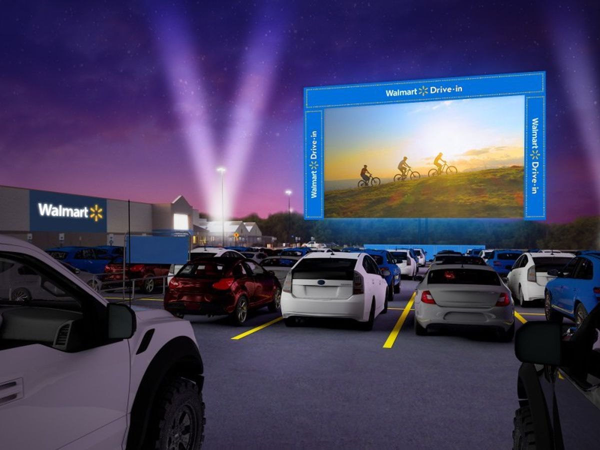'The Walmart Drive-In' free movie events coming to 2 East Texas cities