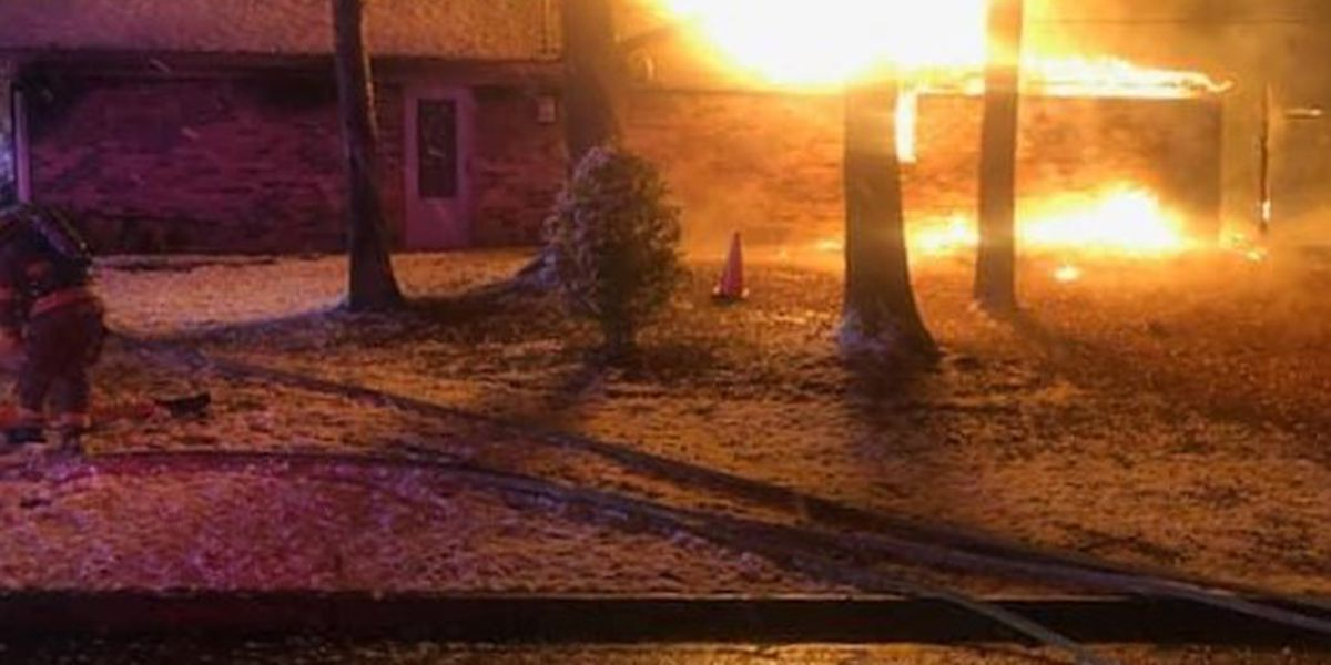 1 person dies in early morning house fire in Marshall