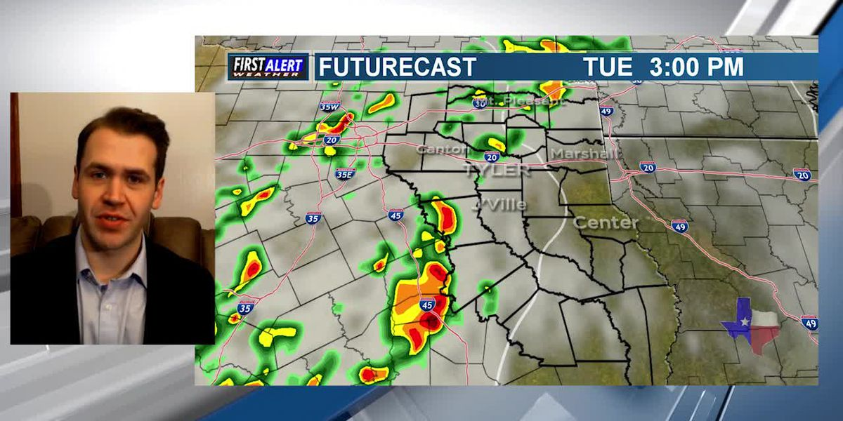Tuesday Afternoon Weather At Your Fingertips