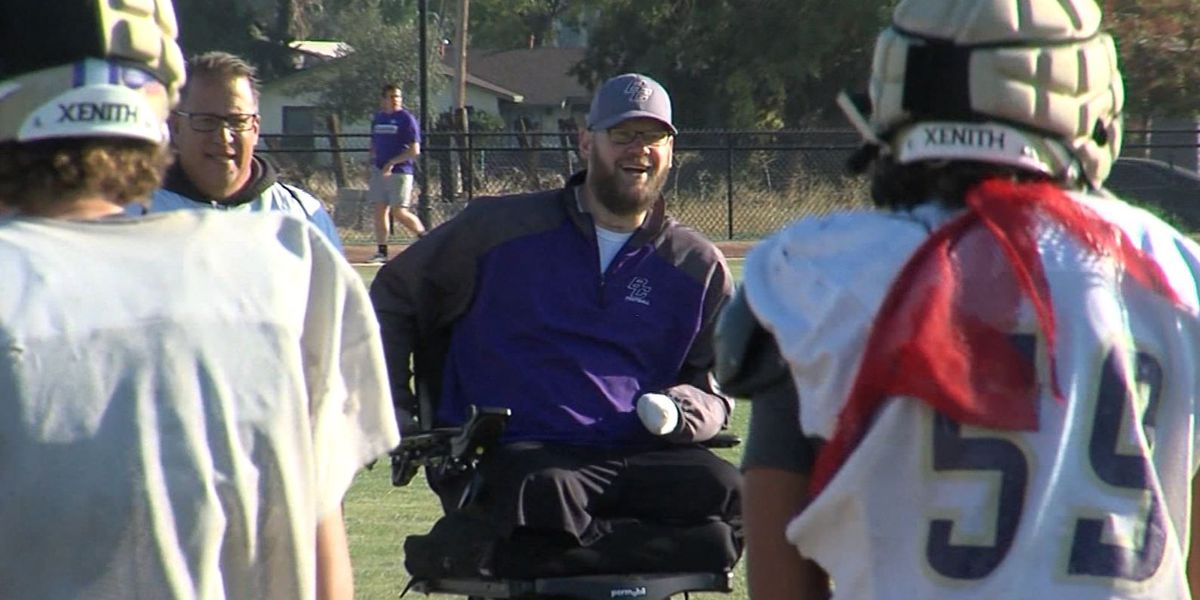 Football coach loses legs, a hand and fingers – but not his positivity