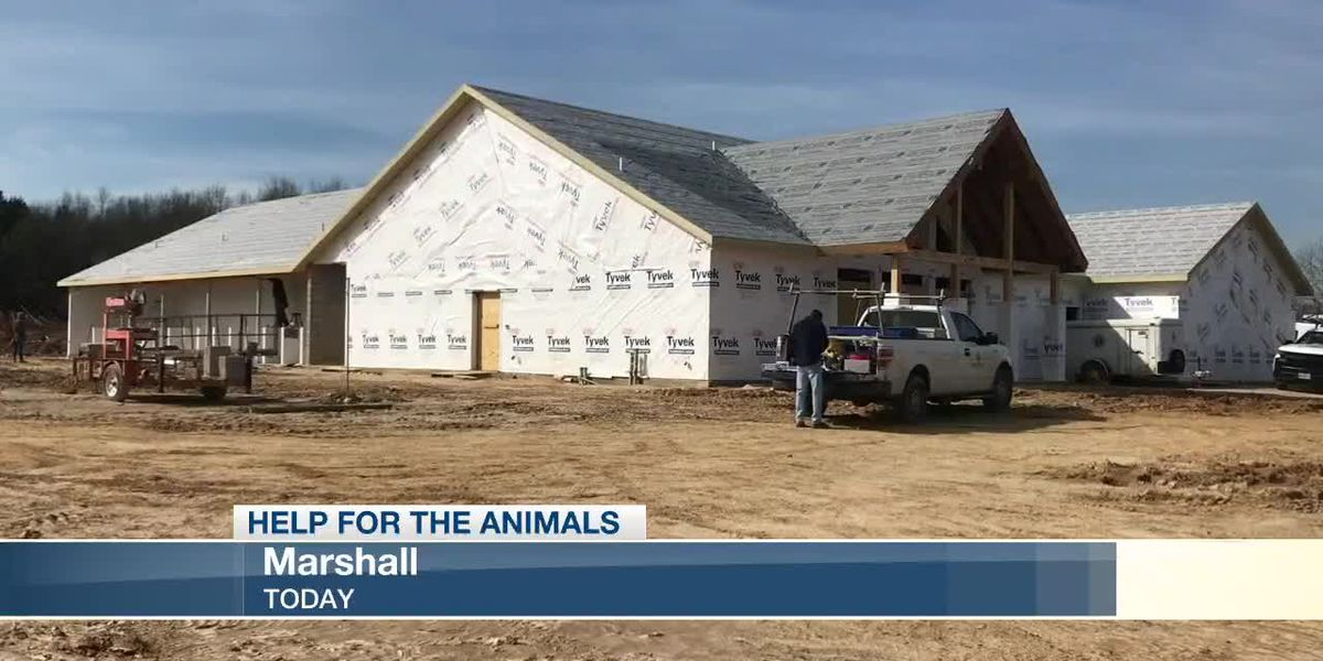 Pet adoption center completion getting close in Marshall