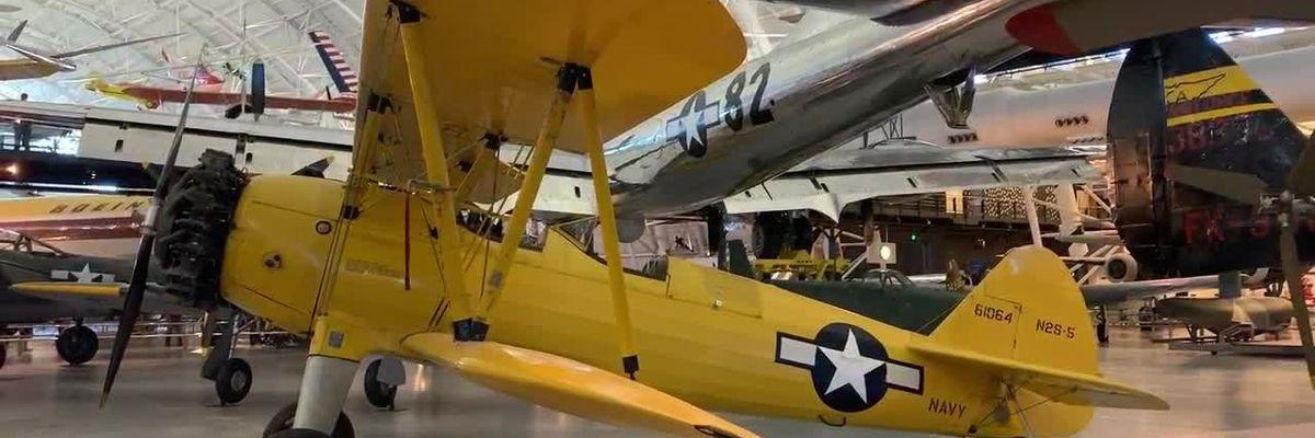 WEBXTRA: Veterans tour the Udvar-Hazy Air and Space Museum
