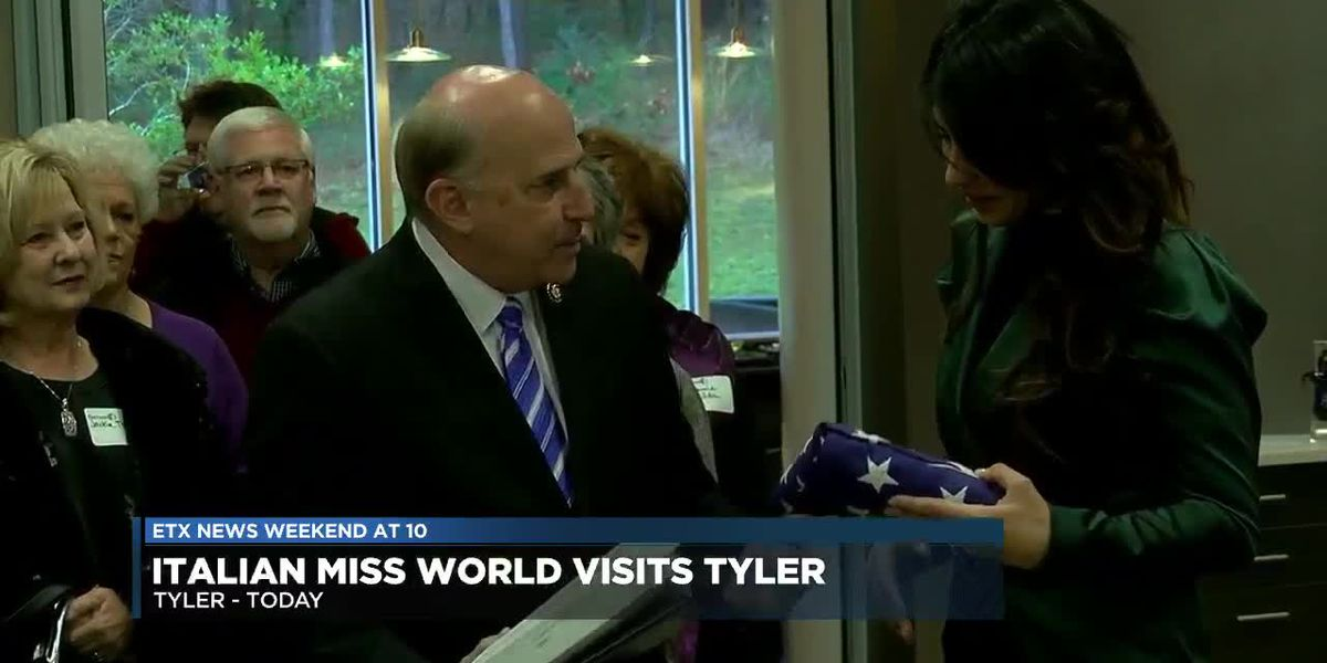 VIDEO: Italian Miss World meets with East Texas choir ahead of concert series in Italy