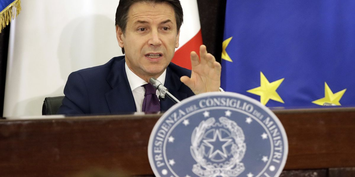 Italy's premier insists budget deal not dictated by EU
