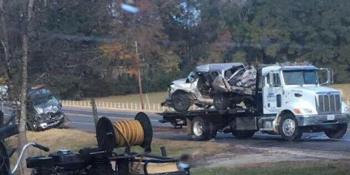 Officials identify two killed in Hwy 64 wreck