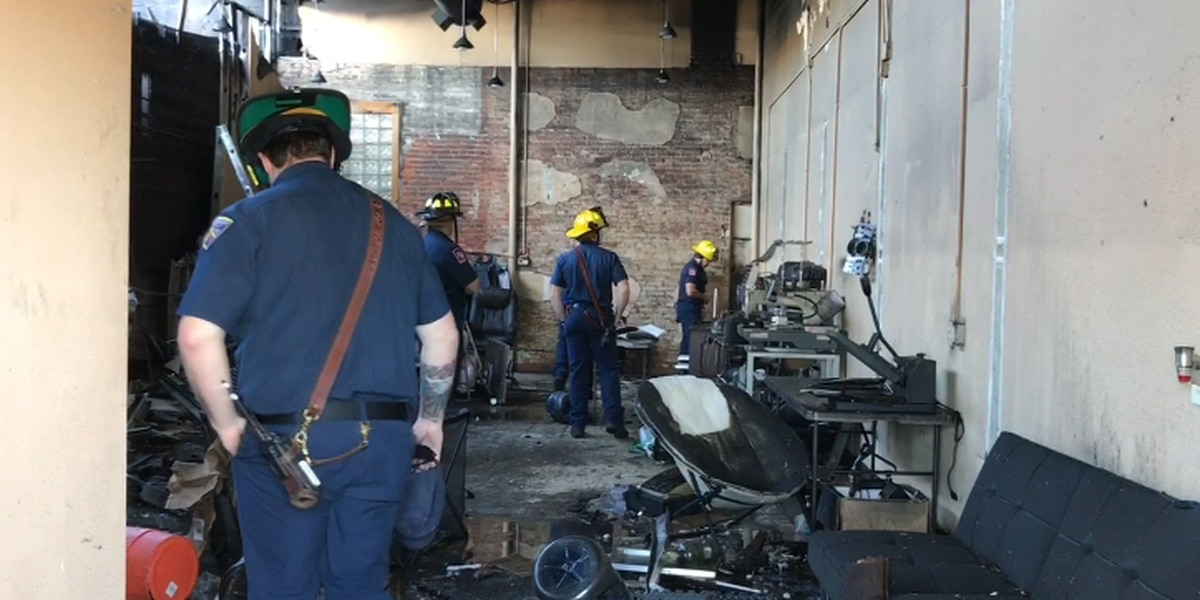 Firefighters to use damaged historic building in downtown Longview as training tool