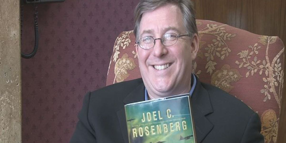 Best-selling author visits ETX for talks on Middle East