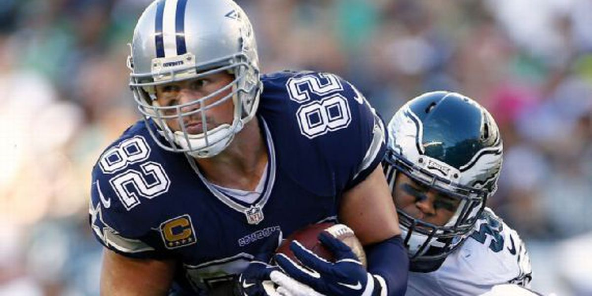 Another Cowboy down: Jason Witten questionable for Sunday
