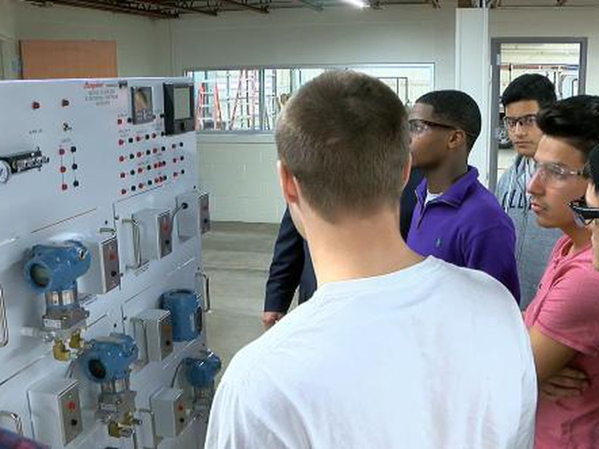 LISD Academy prepares students for jobs with hands on training