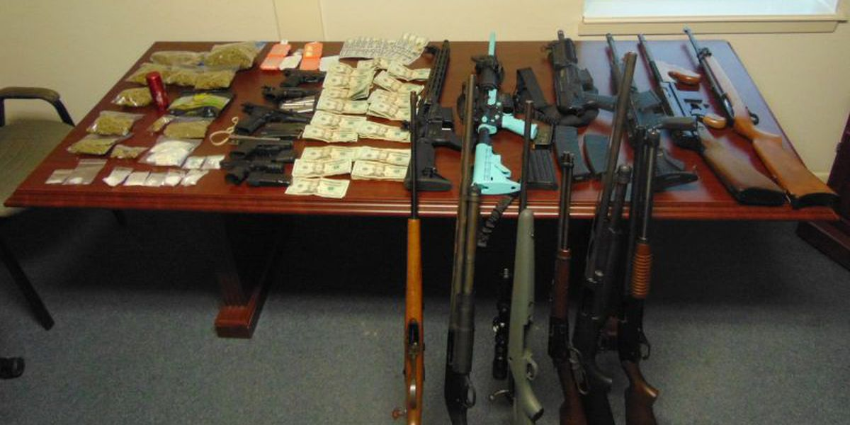 Sheriff's Office: Search of Union Grove home results in arrest, seizure of drugs, guns, cash
