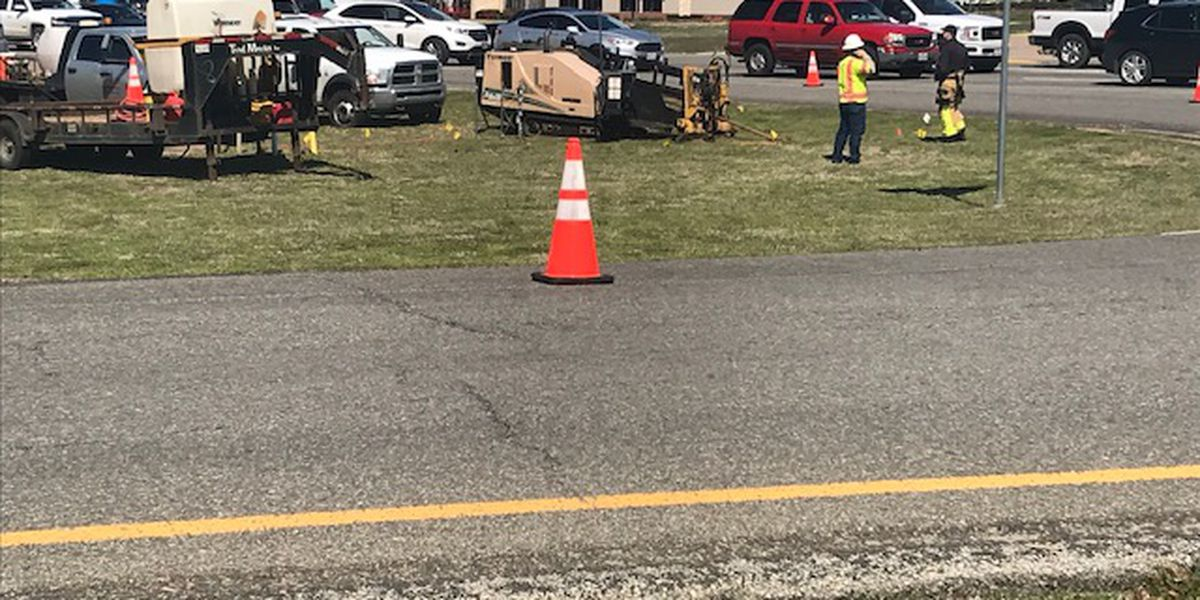 TRAFFIC ALERT: Crews working to repair possible gas leak near US 69 and I-20, roadway shut down in area