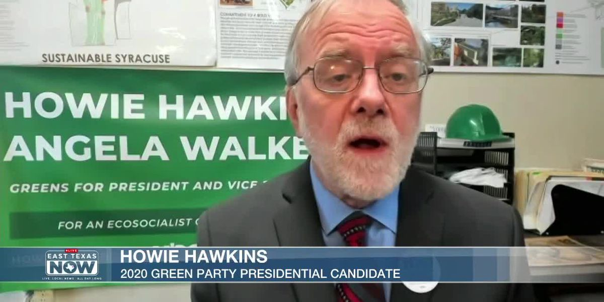 WATCH: Green Party candidate discusses COVID-19, economy, 'Economic Bill of Rights'