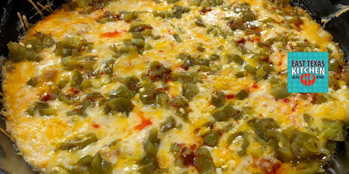 Chili rellenos-inspired skillet dip by Mama Steph