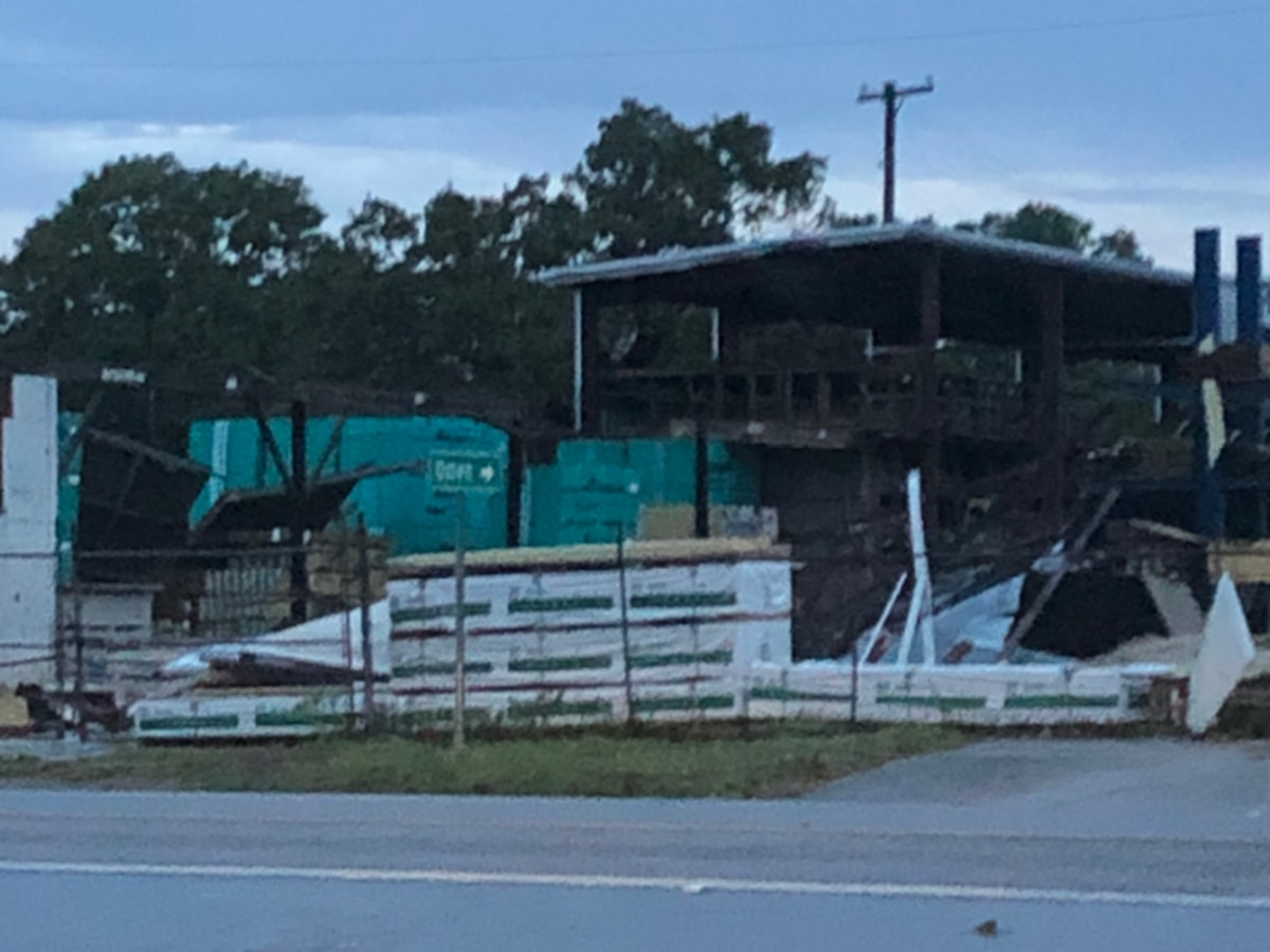 Harry's in Troup loses two buildings after severe weather hit city late Sunday
